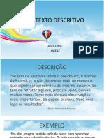 O TEXTO DESCRITIVO.pdf