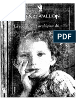200128332 HENRI WALLON La Evolucion Psicologica Del Nino