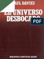 Paul Davies - El Universo desbocado.pdf