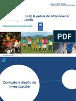 Autopercepciones de La Población Afroperuana