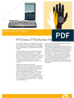 Ficha técnica HP 2710p