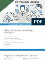 Gestión de Proyectos Digitales