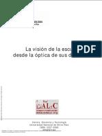 La Visión de La Escuela Desde La Óptica de Sus Dir... ---- (Pg 1--12)