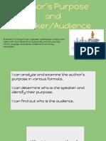 speaker audience moving forward 2018-2019