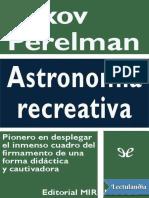 Astronomia Recreativa - Yakov Perelman
