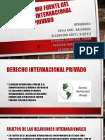 La Ley Como Fuente Del Derecho Internacional Privado