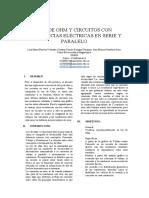 Ley de Ohm y Circuitos Con Resistencias Electricas en Serie y Paralelo.docx