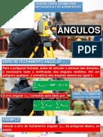 3. Ângulos (III) - Erro de Fechamento Angular e Cálculo de Coordenadas