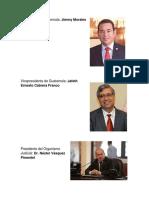 Ministros y Ministerios 2019 Guatemala