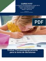 07.- La Evaluación Psicopedagógica a Través de La Utilización de Las Bat...