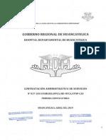 PRIMERA CONVOCATORIA CAS 017-2019 DEL HOSPITAL DEPARTAMENTAL DE HUANCAVELICA