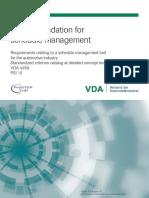 PSI10 ProSTEP-iViP VDA Recommendation Project-Scheduel-Management V1-1