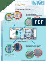 Nuevo Billete 100 Trasluz