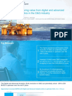 Capturing Value From Digital and Advanced Analytics in the O&G Industry