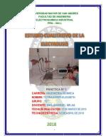1 Estudio Cualitativo de La Electrolisis-