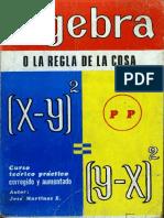 algebra - o la regla de la cosa.pdf