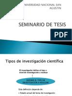 Seminario de Tesis Clase 1