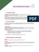 3 Cours Equation Inequ