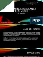 Normas que regulan la publicidad en Venezuela