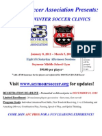 2011 AFC Winter Soccer Clinics