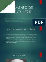 Experimento de Franck y Hertz 2
