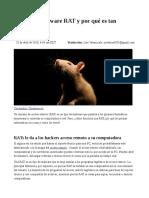 Que Es El Malware RAT Por Que Es Tan Peligroso