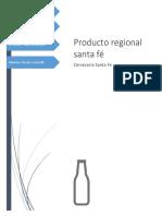 Cerveza santa fé (producto regional)