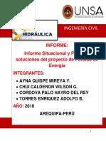 Informe Situacional y Posibles soluciones del proyecto de Perdida de Energía