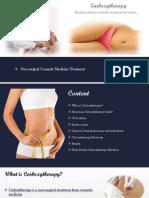 Non-surgical Cosmetic Medicine Treatment