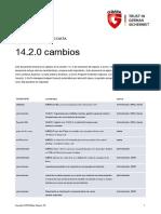 G DATA B2B Changelog 14.2.0 Es
