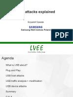 USB Attacks Explained (Krzysztof Opasiak, LVEE-2017)