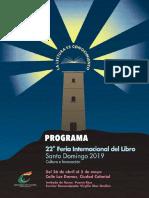 Programa General FILSD 2019
