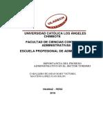 Actividad de Investigacion Formativa - Proceso Administrativo (2) Juan