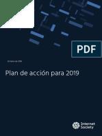 2019 ISOC Action Plan ES