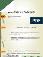 Monitoria de Português - FEV