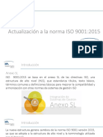 ISO 90012015 Cambios