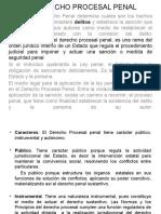 1. El Derecho Procesal Penal