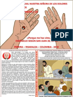 HOJITA EVANGELIO NIÑOS DOMINGO II PASCUA C 19 CLOR