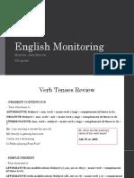 English Monitoring e Monitoria de Física