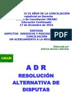 Conversatorio 25 Años de La Conciliación en Colombia