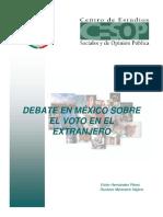 PB6004 Debate en Mexico Sobre El Voto en El Extranjero