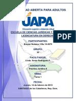 Tarea 1 Práctica Jurídica II 14-02-2019
