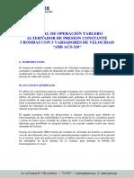 12.07.01.- Manual de Tablero Presion Constante 3bb 3var Acs310 Abb