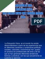Planeacion de Area Educacion Fisica 2010