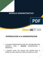 Modelo Administrativo