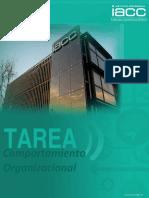 `comportamiento organizacional daniel tapia tello iacc tarea 8