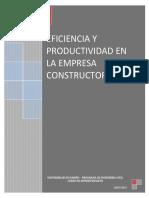04 Eficiencia y Productividad en Las Empresas Constructoras