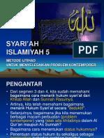 Syariah Islamiyah 5