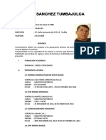 Elmer Sanchez Tumbajulca