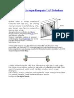 Cara Membuat Jaringan Komputer LAN Sederhana